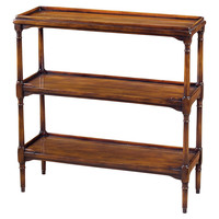 """Theodore Alexander, Butler's 31"""" Pantry Console, Russet, Console Table"""