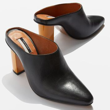 GREECE Feature Heel Mules - New In This Week - New In