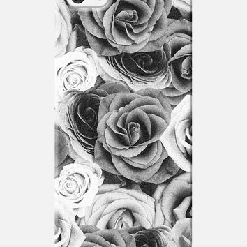 ROSE iphone 6 case, flower iphone 6 case, flowery iphone case, vintage iphone 6 case, shabby chic, floral iphone case, cute iphone 6 case