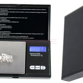 New LCD Digital Scale 500g x 0.1g Jewelry Gold Coin Jewelry Grain Gram Pocket   1206|26601 = 1745503748