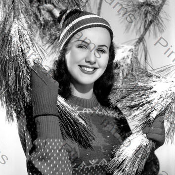 "Vintage Movie Star Photograph of Deanna Durbin reprint 8"" x 10"" (Get Any 4 For The Price of 3)"