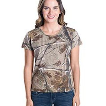 Code Five Ladies' Realtree Camo T-Shirt