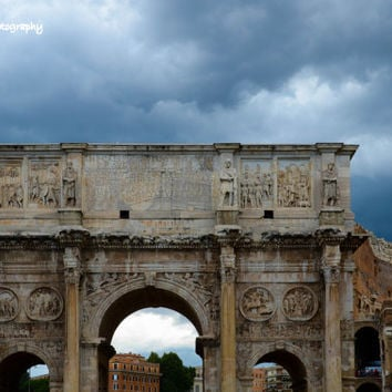 Italy Photography, Arch of Constantine, Travel Photography, Landscape Photography, Fine Art Photo, Wall Art, Home Decor, Rome Photography