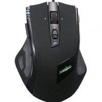 Perixx MX-2000 IIB, Programmable Gaming Laser Mouse - Black - 8 Programmable Button - Weight Tuning Cartridge - Avago 5600DPI ADNS-9500 Laser Sensor