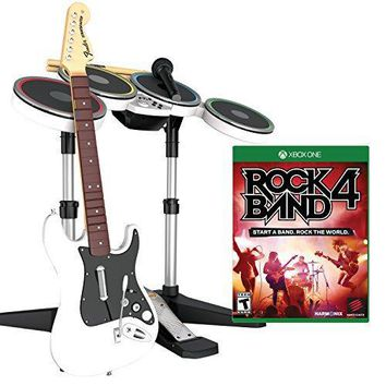 Rock Band 4 Band-in-a-Box Software Bundle for Xbox One - White