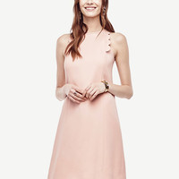 Scalloped Shift Dress | Ann Taylor