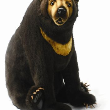 Hansa Sitting Sunbear Stuffed Animal