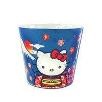 Hello Kitty Fujisan Ceramic Tea Cup Mug Sakura Sarnio - Spring