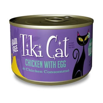 TIKI CAT WET - KOOLINA_CHICKEN/EGG 8/6 OZ - TIKI CAT LUAU RPLCS TK00790 - WHITEBRIDGE PET BRANDS - UPC: 693804107909 - DEPT: OTHER PET FOODS