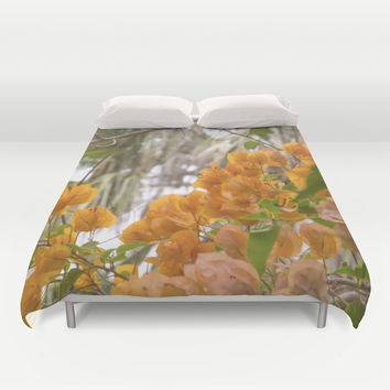 Touch of warmth Duvet Cover by Armine Nersisian