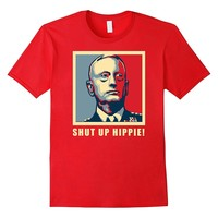 Shut Up Hippie General Mad Dog Mattis Knifehands T-shirt
