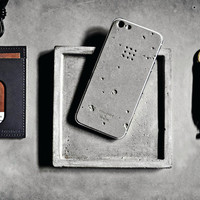 Luna Concrete iPhone Skin