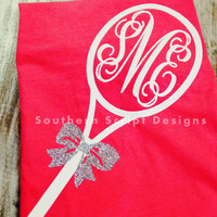 Short Sleeve Monogrammed Tennis Shirt ©