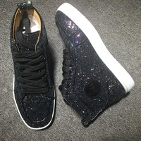 Christian Louboutin CL Style #2281 Sneakers Fashion Shoes Best Deal Online