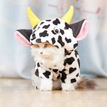 Cow Kitty Cat Halloween Costume