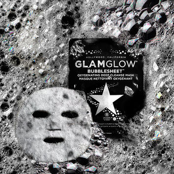 BUBBLESHEET™ Oxygenating Deep Cleanse Mask - GLAMGLOW | Sephora