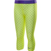 Nike Girls' Pro Compression Printed Capris - Dick's Sporting Goods