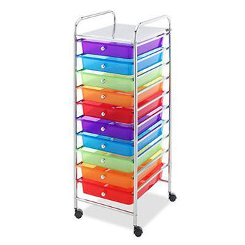 10 Drawer Cart Multi Color