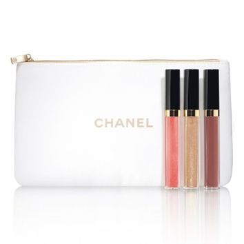 CHANEL NUDE MOOD ROUGE COCO GLOSS Moisturizing Glossimer Trio (Limited Edition) | Nordstrom