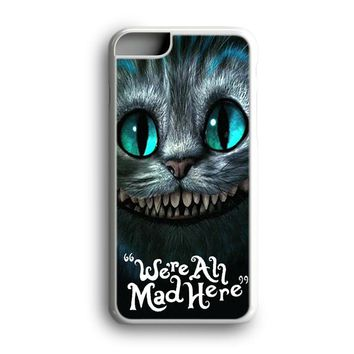 Black Friday Offer Cheshire Cat Were All Mad Here iPhone Case & Samsung Case