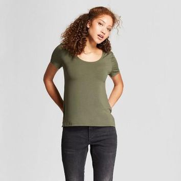 Women's Any Day Short Sleeve Scoop T-Shirt - A New Day™