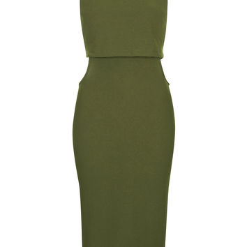 Sleeveless Cut-Out Midi Dress - Topshop