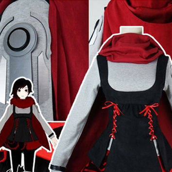 Ruby Rose (Red) Costume, RWBY II 2 Costume