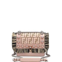Fendi Kan I Small FF Scalloped Shoulder Bag