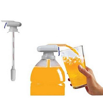 Magic Faucet electric automatic water dispenser and drink beverages fruit juice magic click spill proof drinks suck