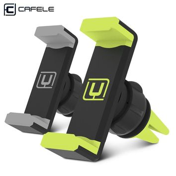 FREE | CAFELE universal phone holder stand 360 adjustable air vent monut GPS car mobile phone holder for iPhone X 8 7 6 Plus Samsung S8. Pay only Shipping!