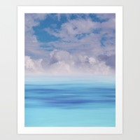 The Sea is Calm Art Print by NaturalColors