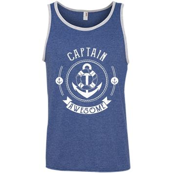 Captain Awesome Unisex & Women's Shirts & Tanks