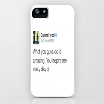 Calum Hood. iPhone & iPod Case by Jessica Rose