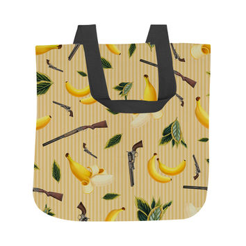 Wild West Gone Bananas Tote Bag