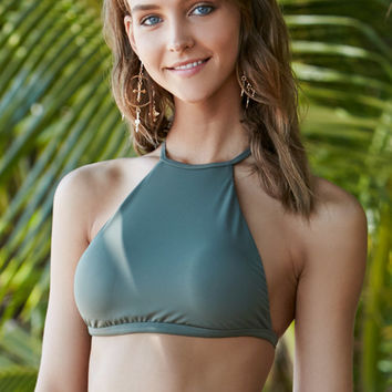 LA Hearts Strappy Back Cropped Bikini Top at PacSun.com