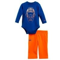Under Armour Boys' Newborn UA Protect Long Sleeve 2-Piece Set