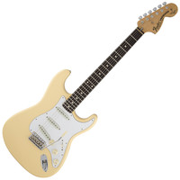 Fender Yngwie Malmsteen Stratocaster Electric Guitar - Vintage White | Hello Music