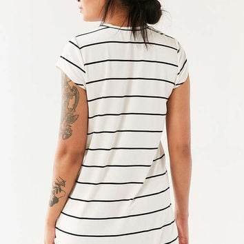 Cooperative Striped Pocket T-Shirt Dress - Urban Outfitters