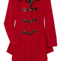 Vivienne Westwood Anglomania | Just-Au-Corps wool-blend duffel coat | NET-A-PORTER.COM