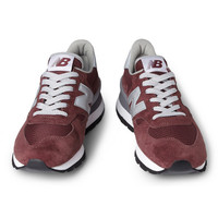 New Balance990 Suede and Mesh Sneakers|MR PORTER