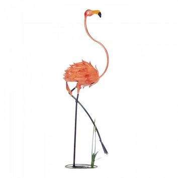 Statuesque Flamingo Garden Decor