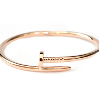 Rose Gold Nail Bangle