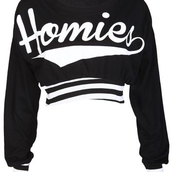 Homies Casual Top - Womens Clothing Sale, Womens Fashion, Cheap Clothes Online | Miss Rebel