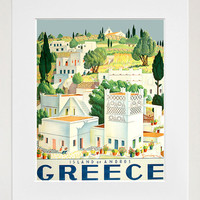 Greece Art Vintage Travel Poster Print Home Wall Greek Decor (XR269)