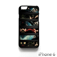 hp and tvd harry potter and the vampire diaries for Iphone 4/4S Iphone 5/5S/5C Iphone 6/6S/6S Plus/6 Plus Phone case