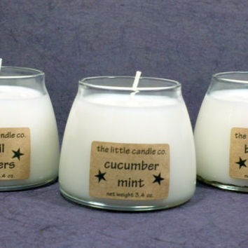 Pick Any 3 Soy Candle Jars - Your Choice Hand Poured and Highly Scented Container Candle Sampler Pack