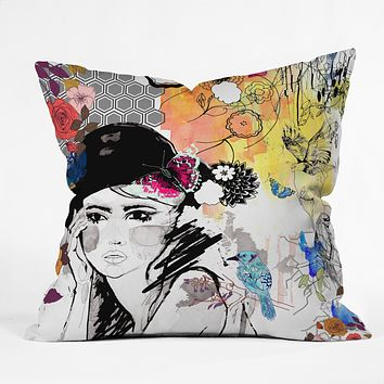 Holly Sharpe Dreamer Throw Pillow