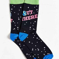 Out There Sock- Black One