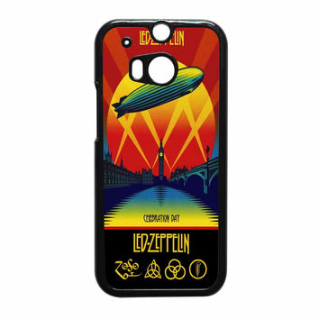 Led Zeppelin Poster HTC One M8 Case