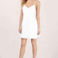 Renee Open Back Slip Dress